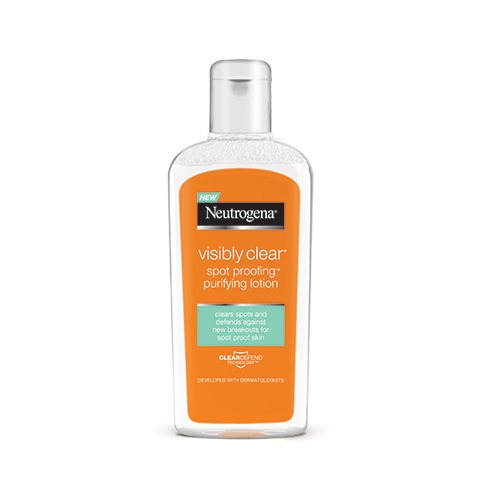 NEUTROGENA spot proofing purifying lotion