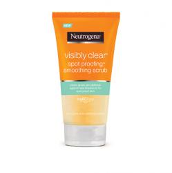 NEUTROGENA spot proofing smoothing scrub